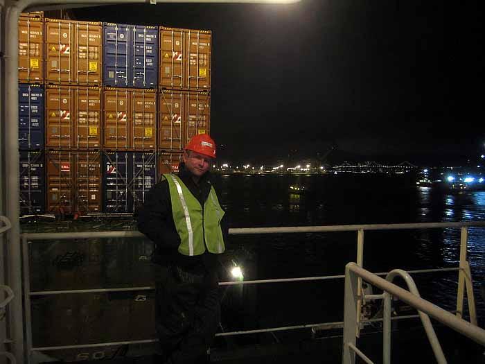 Aboard SS Maui