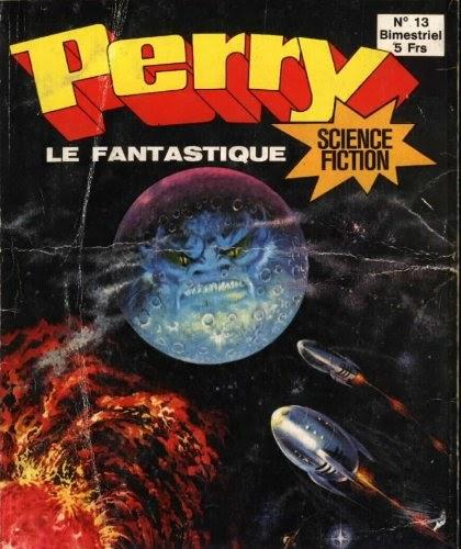 1961 Perry Rhodan: Le Bd Mag Exhumator: PERRY LE FANTASTIQUE