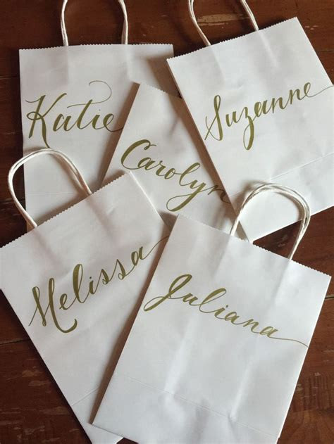 ideas  personalized gift bags  pinterest