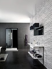 Cool Black And White Bathroom Design Ideas wallpaper