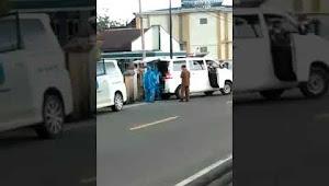 Video Evakuasi Seorang Warga Semurup Diduga Terpapar Covid 19 atau Corona