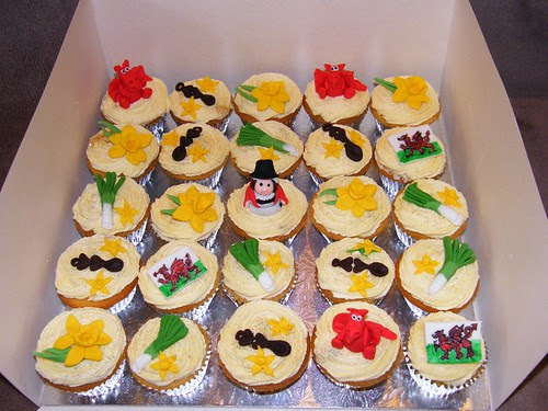 Welsh cupcakes