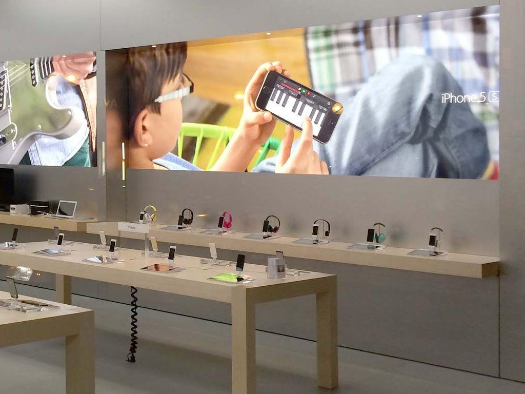 apple store new graphics