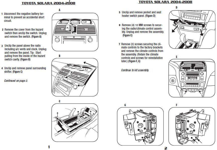 2003 Toyota Solara Dashclock Wiring Diagram Wiring Diagram Owner Owner Bowlingronta It