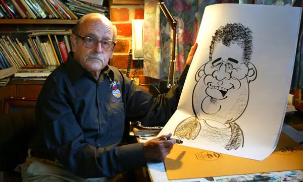 رسام كرتون