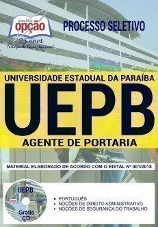 Apostila Processo Seletivo UEPB 2018 | AGENTE DE PORTARIA