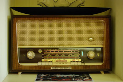 Grundig Radio in the Norman Petty Recording Studios, Clovis, New Mexico