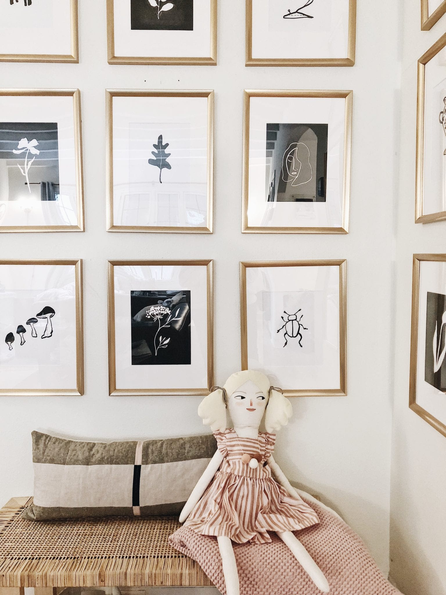 12 Gallery Walls To Inspire Your Next Weekend Project Wit Delight