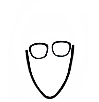似顔絵の描き方簡単に描けるひょっこりはん 身近な法律マンガ