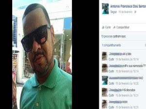 Amigos e alunos da vítima lamentaram o ocorrido nas redes sociais (Foto: Reprodução / Facebook)