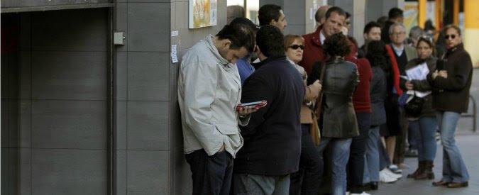"""Istat: """"2,2 milioni di famiglie senza lavoro. Spesa sociale inefficiente, peggio di noi solo la Grecia"""""""