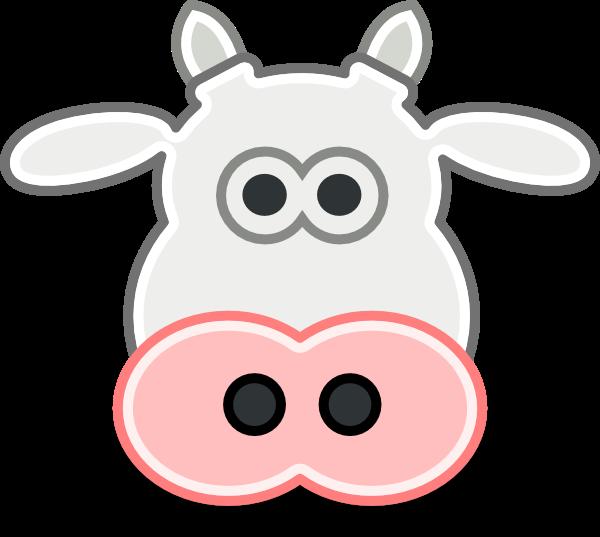 Cow Clip Art At Clkercom Vector Clip Art Online Royalty Free