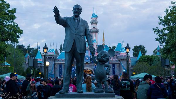 Disneyland Resort, Disneyland60, 60, Anniversary, 24, Hour, Party, Celebration, Kick, Off, Disneyland, Partners, Statue, Walt, Disney, Mickey, Mouse