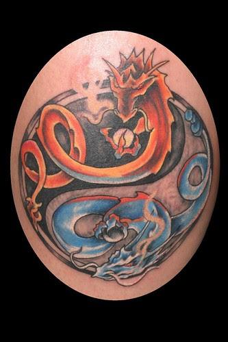Dragon Heart Tattoo