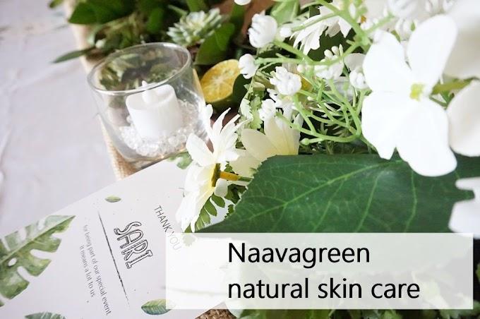 Naavagreen perawatan wajah yang natural, berkualitas dan harga terjangkau.