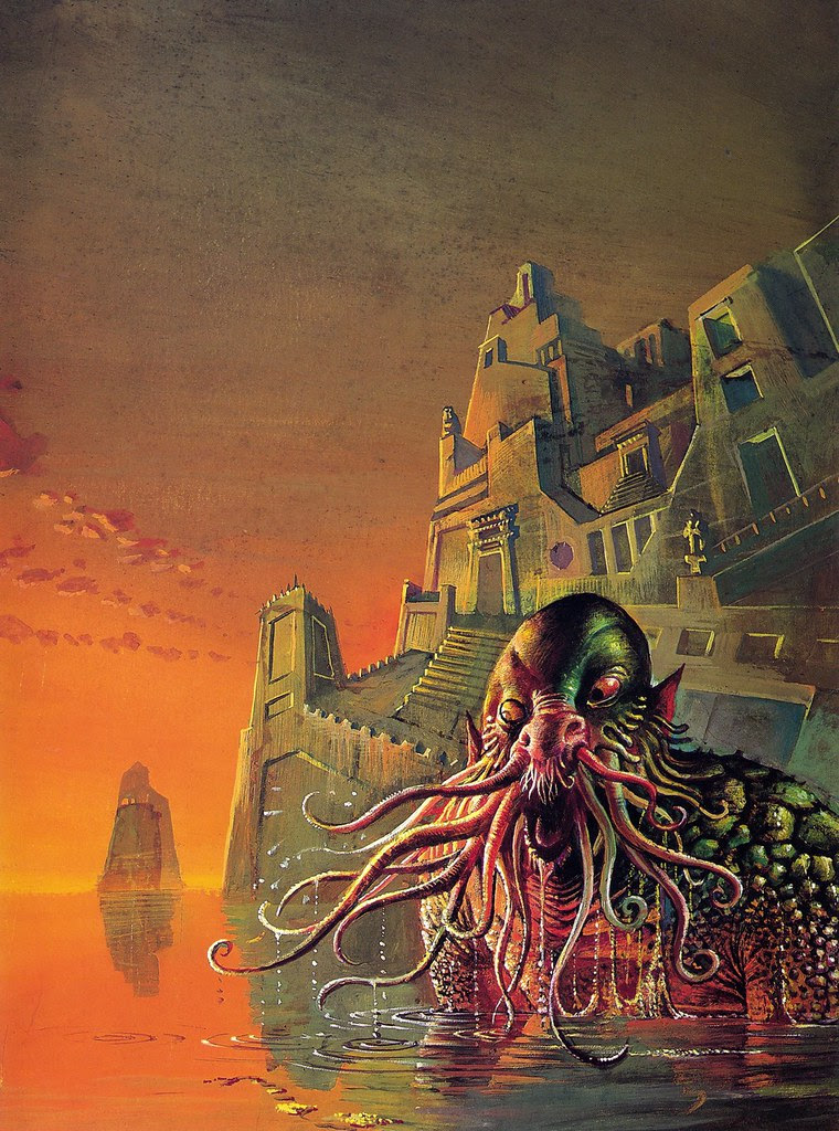 Bruce Pennington - Tales Of The Cthulhu Mythos, Vol. 1, 1974