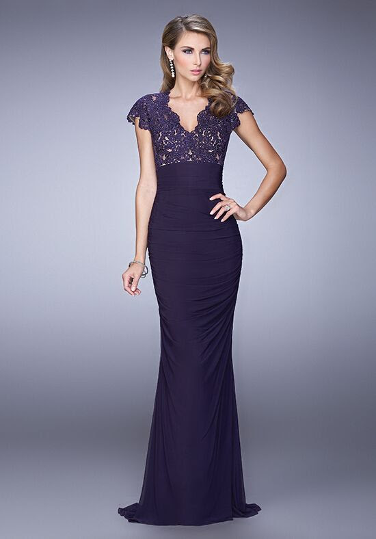 la femme evening 21551 mother of the bride dress  the knot