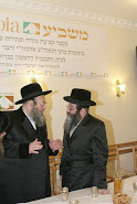 Spinka Rabbi with Rabbi Stein