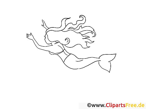 Ausmalbilder Kostenlos Barbie Meerjungfrau : Ausmalbilder Kostenlos Meerjungfrau Ausmalbilder