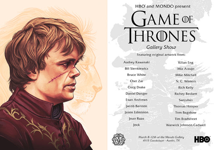 Hbo And Mondo Present Game Of Thrones Gallery Show