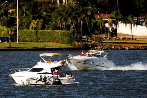 No DF, há 5 mil barcos registrados que trafegam no Lago Paranoá, fiscalizado pelo 7º Distrito Naval da Marinha