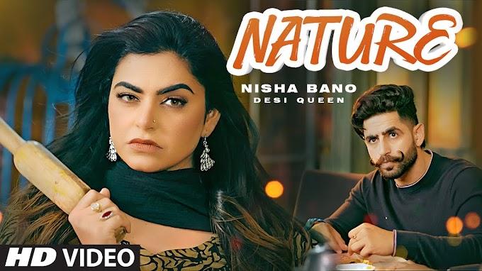 NATURE SONG LYRICS - NISHA BANO