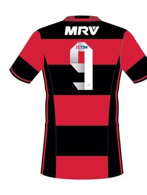 camisa flamengo novo patrocinador (Foto: Reprodução)