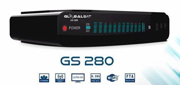GLOBALSAT GS 280 HD NOVA ATUALIZAÇÃO V2.03 - 25/02/2019