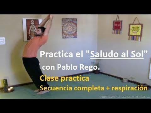 """Video: Practica el """"Saludo al Sol"""" con Pablo Rego"""