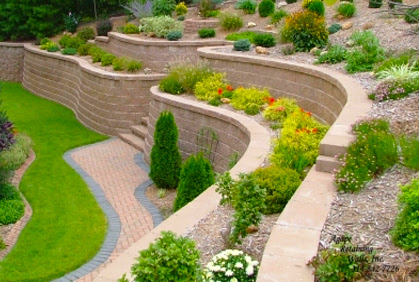 Landscape Design Ideas For Sloped Front Yard