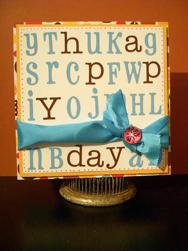 Happy Day Alpha Card