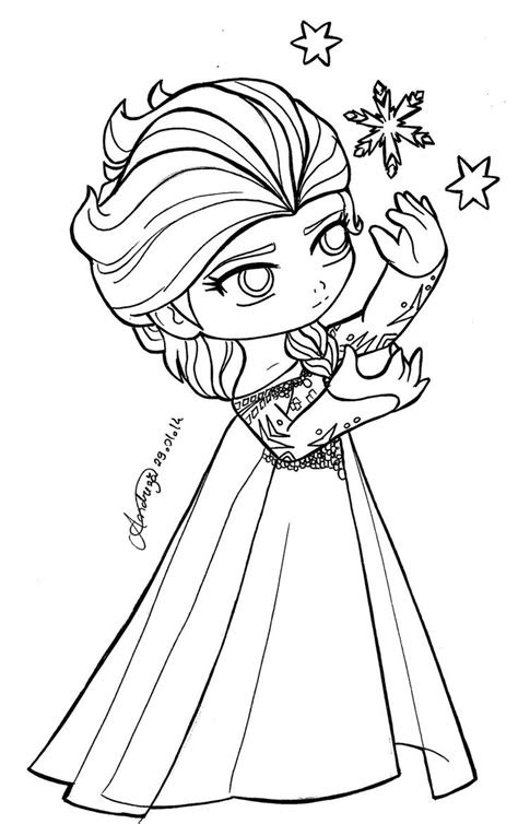 Frozen Anna From The Frozen Coloring Page   Coloring Page Blog