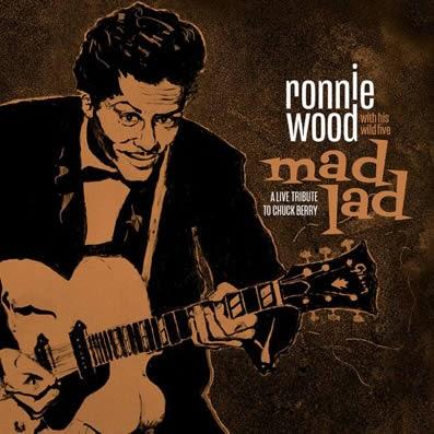 Ronnie Wood rinde homenaje a Chuck Berry con un disco en directo