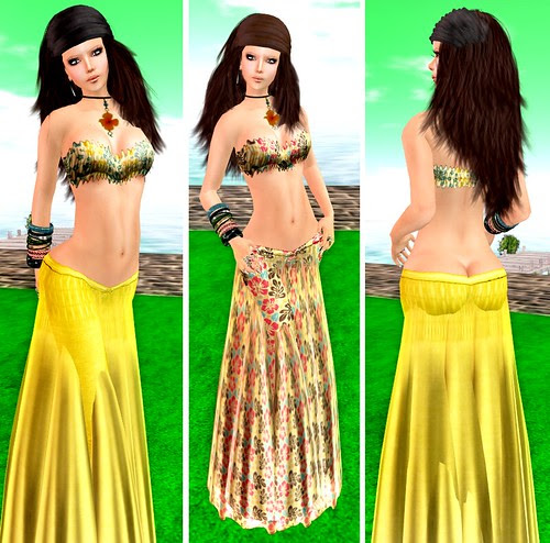 ::HH:: Hucci Belle Skirts - Tropical/ Pattern