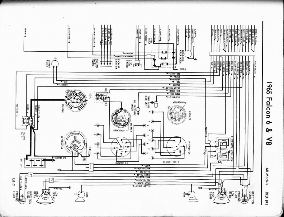 Falcon Starter Wiring Diagram