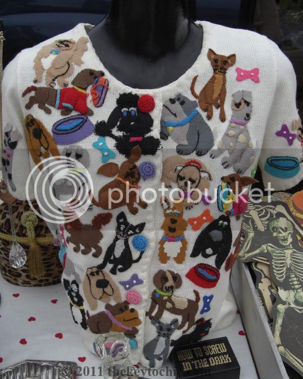 Ventura Flea Market dog sweater
