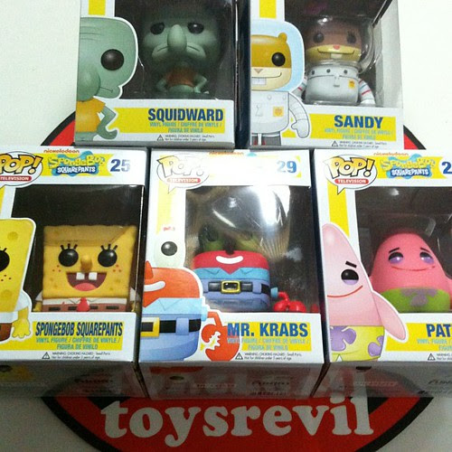 Spongebob Squarepants POP Vinyls