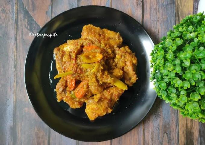 Resep Mudah Ayam Rica-Rica Anti Ribet