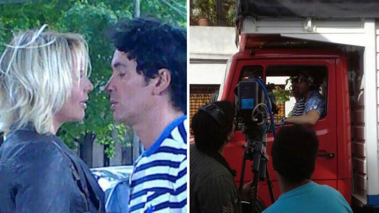 Carina Zampini, Sebastián Estevanez y Juan Darthés