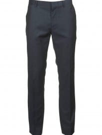 Topman Navy Tonic Skinny Suit Trousers