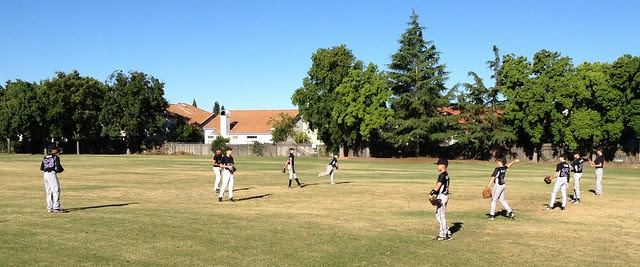 Outlaws Baseball Scrimmage versus Laguna Creek High School JV