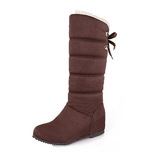 Details zu JACKSHIBO Damen Herren Stiefel Leder Klassischer Stiefeletten Ankle Boots Schuhe