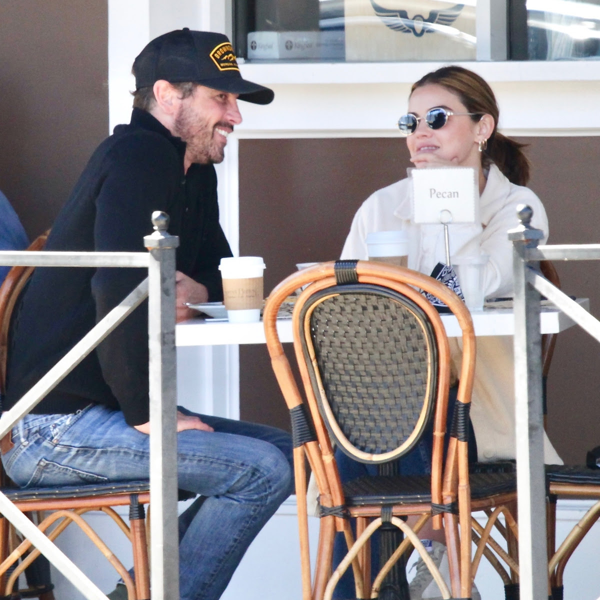Inside Lucy Hale and Skeet Ulrich's Casual New Romance