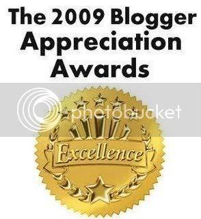 The 2009 Blogger Appreciation Awards