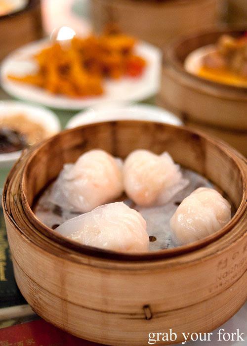 prawn dumplings har gow yum cha dim sum east ocean chinatown haymarket