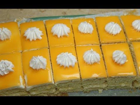 طريقة عمل الجاتوه في البيت بكيكة اسفنجية تذوب في الفم وكريمة رائعة