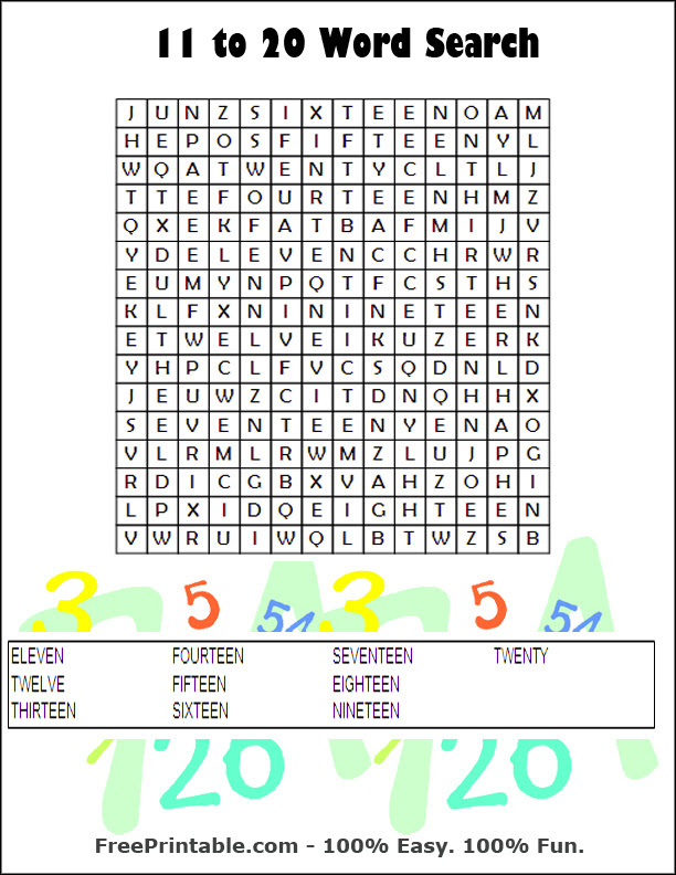 Word  100 Hard Word Search Puzzles
