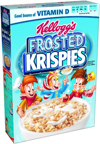 Cereal Online: Rice Krispies Toasted Rice Cereal, Frosted ...