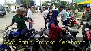Video Operasi Yustisi di Pasar Rimbo Bujang, Tebo