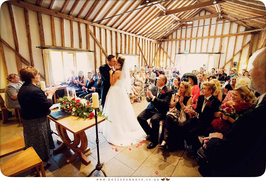 Haughley Park Barn Ceremony Vintage Alternative Suffolk Wedding Photography - www.helloromance.co.uk